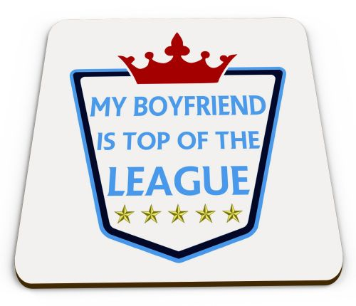 My... Is Top Of The League Novelty Glossy Mug Coaster